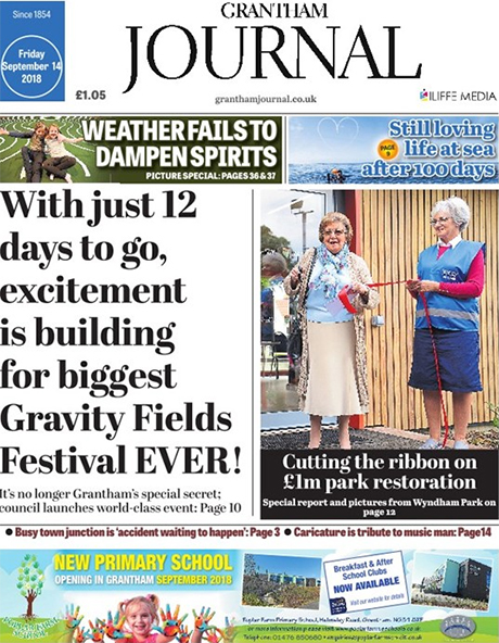 Grantham Journal e-edition