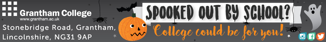Grantham College - Spooked out by school?