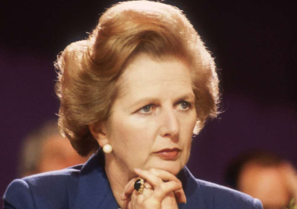 Margaret Thatcher (Photo by Hulton Archive/Getty Images) PPP-140822-175817001
