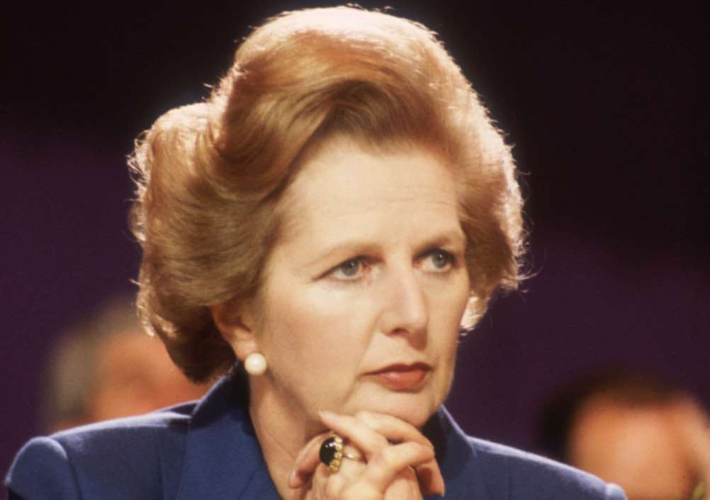 Margaret Thatcher. (Photo by Hulton Archive/Getty Images)