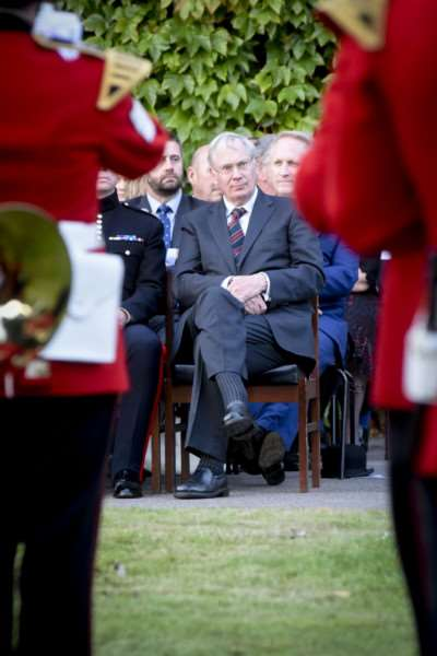 The Duke of Gloucester was a special guest at the 100th anniversary celebrations at the Prince William of Gloucester barracks in Grantham.