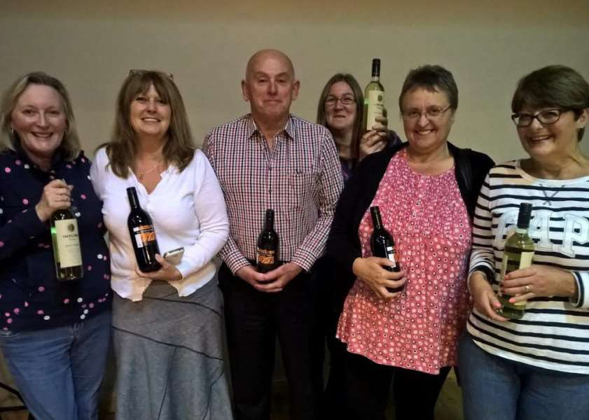 Winners of last year's hospice quiz