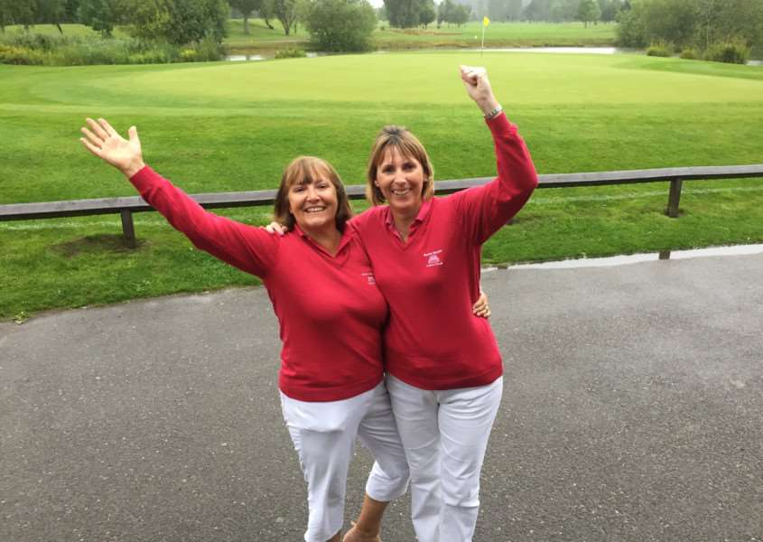 Belton Woods pair Lesley Perrin and Val Williams won the sixth round of of the Daily Mail Foursomes competition.
