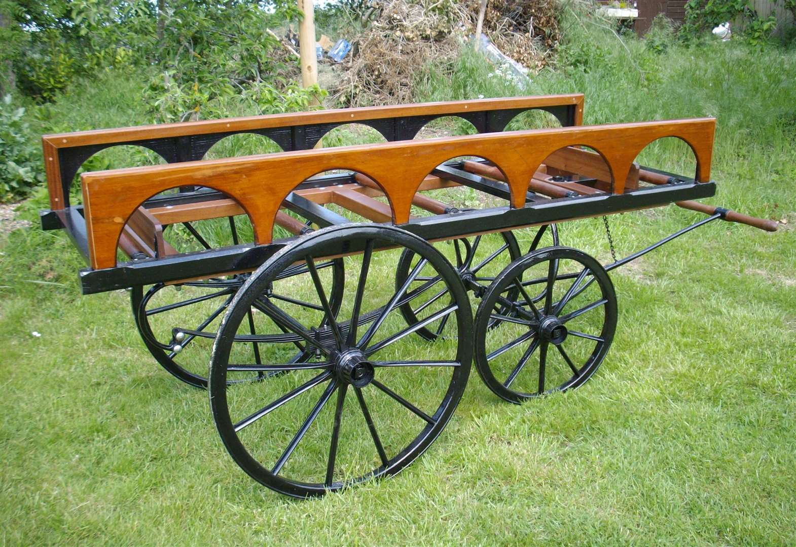 Peter's restored funeral bier to remain in Grantham