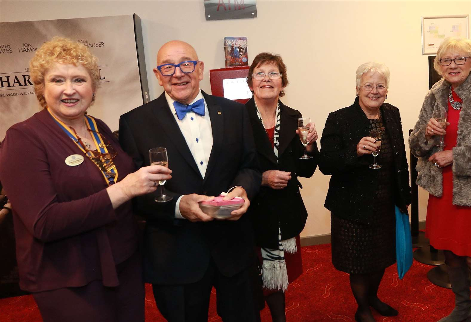 Savoy premiere for town Rotarians