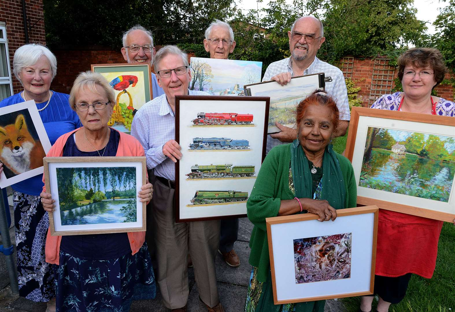 Grantham Art Club to showcase their work at museum