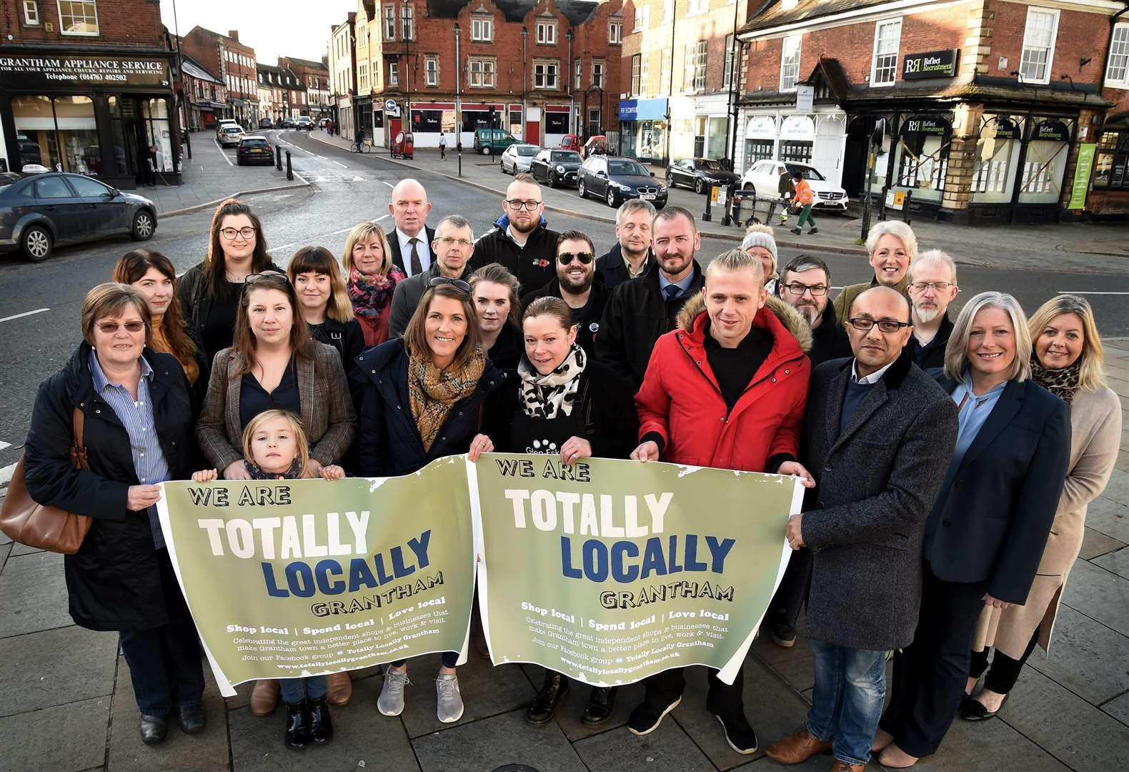 More and more businesses are joining Totally Locally Grantham to boost our town