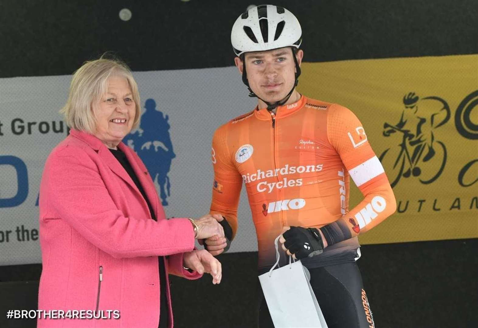 Peter impresses in top cycling road races