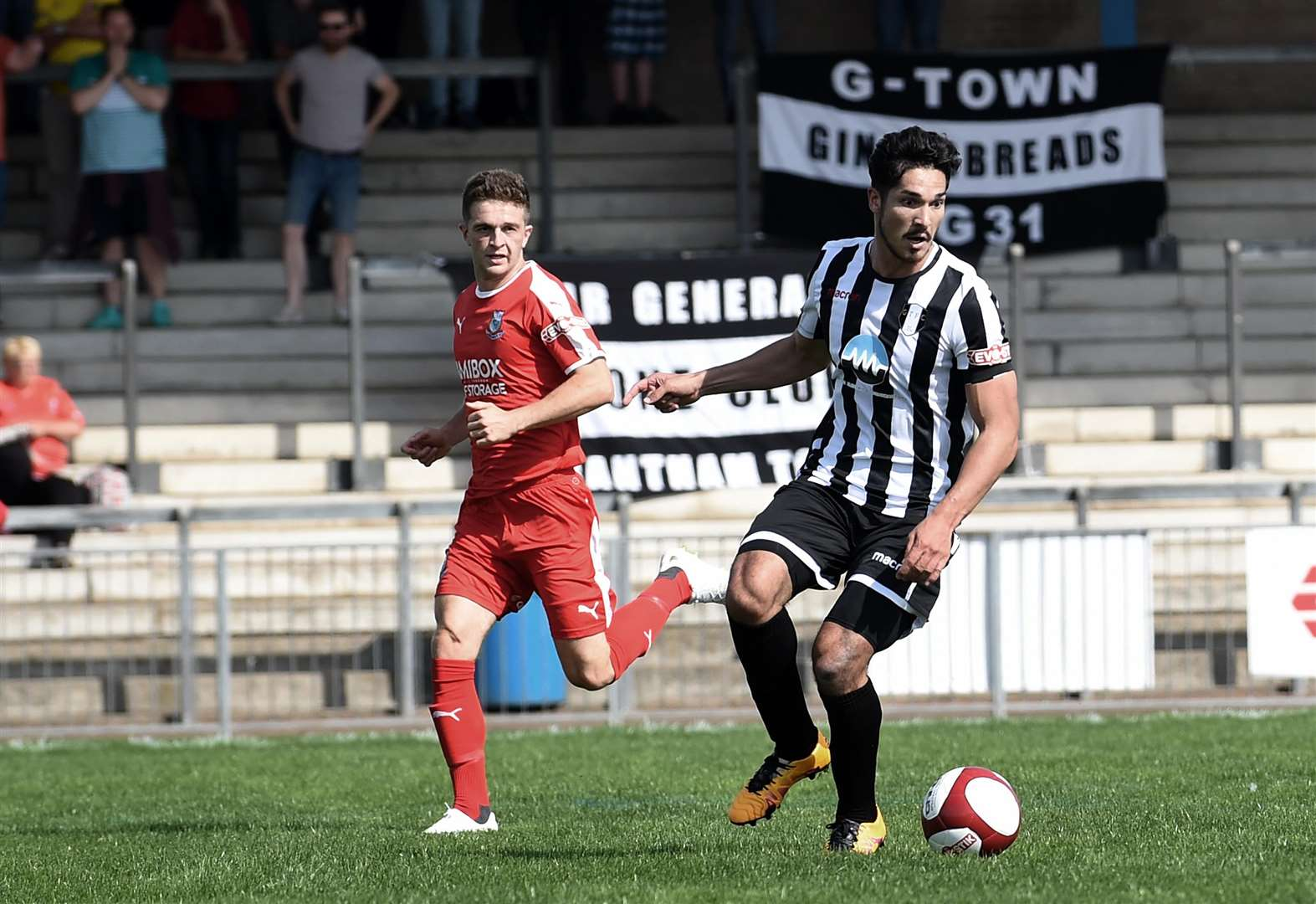 Grantham Town march on in FA Cup campaign