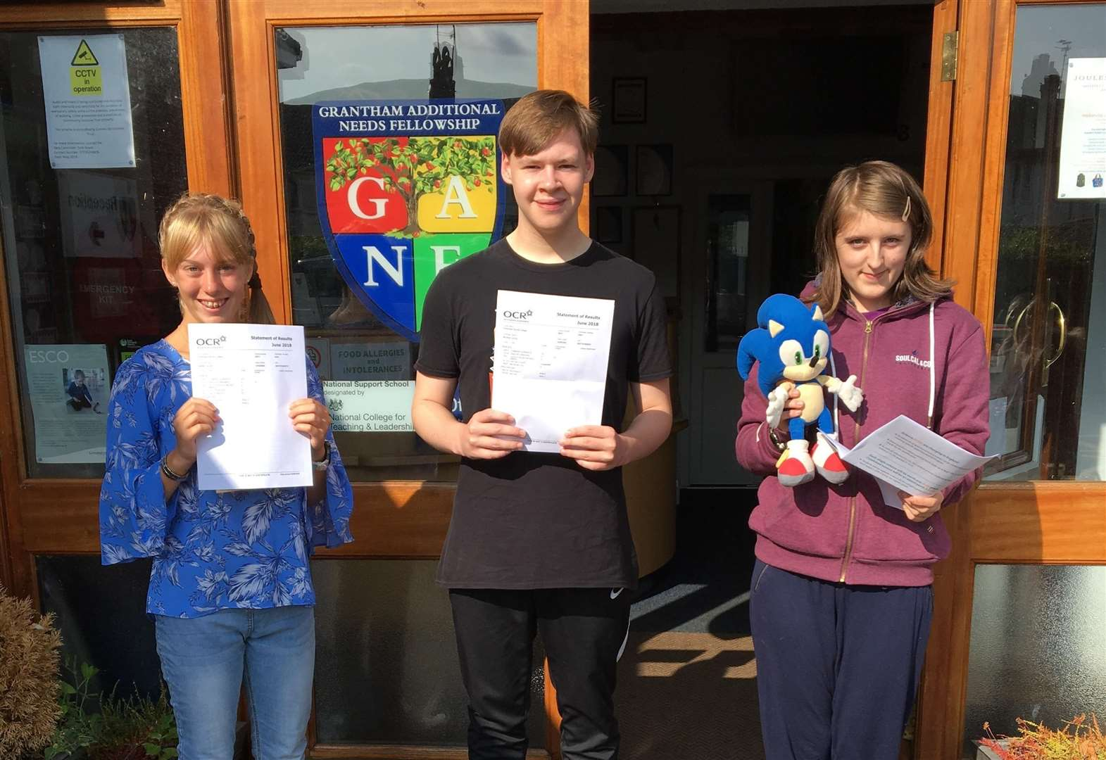 Grantham special needs school celebrate record exam results