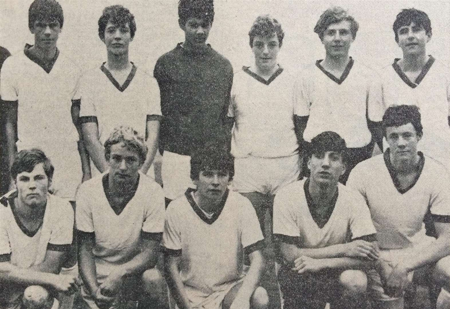 Boys' football team played in English Schools Shield