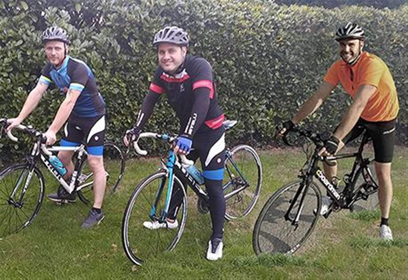 Grantham family embark on memorial bike ride