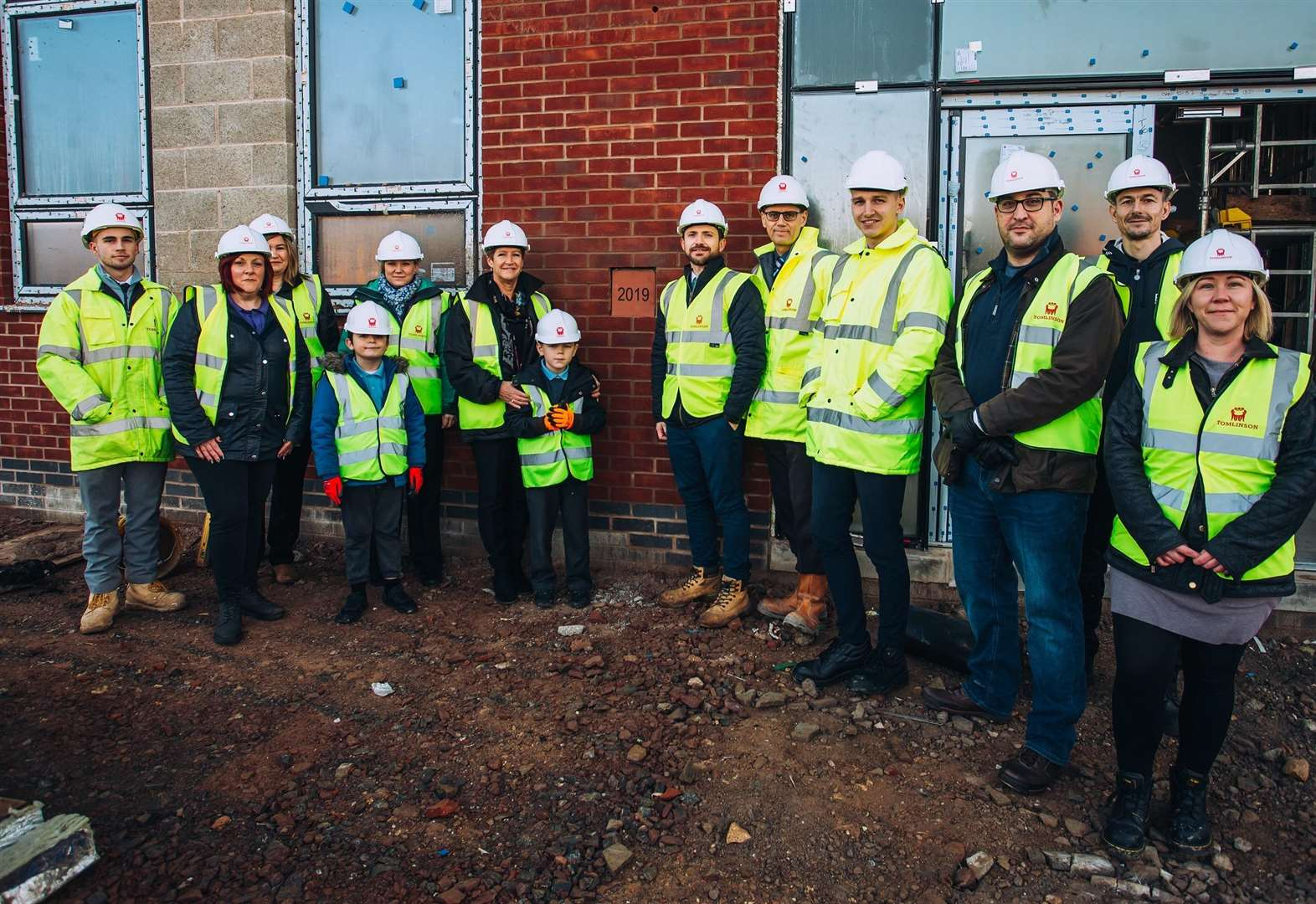 Pupils get first glance at their new Grantham school