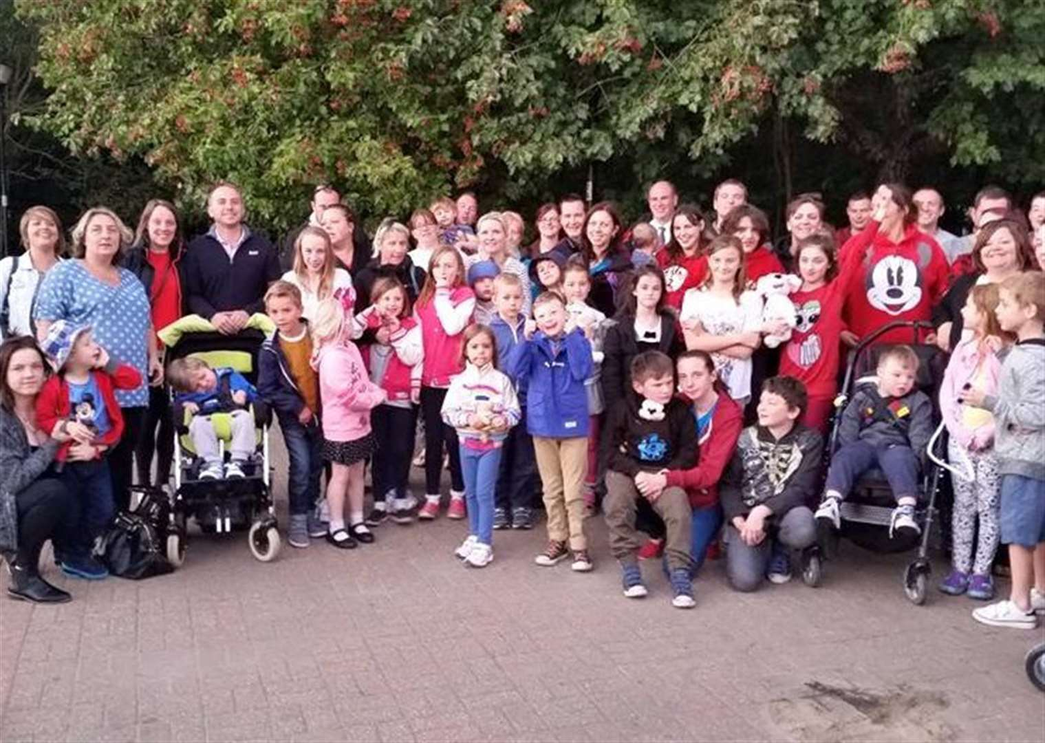 'Massive thank you for magical Disney trip' says Grantham Disabled Children Society