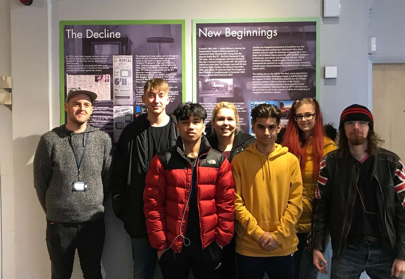 Design students delve into cinema history for new Grantham Museum exhibition