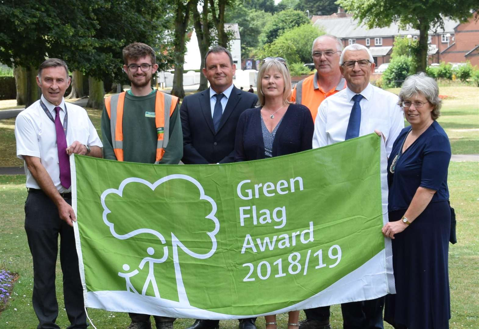 Wyndham Park retains Green Flag status