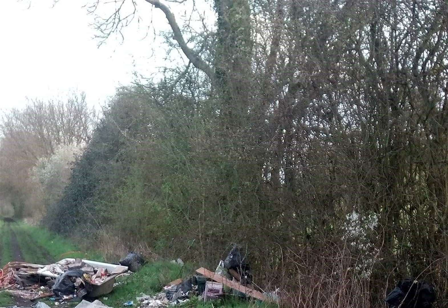 Reader letter: Fly-tipping a sign of the times