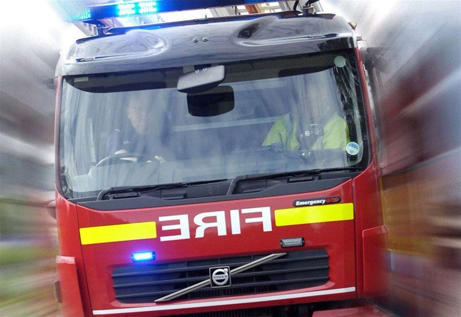Firefighters called to car fire in Grantham