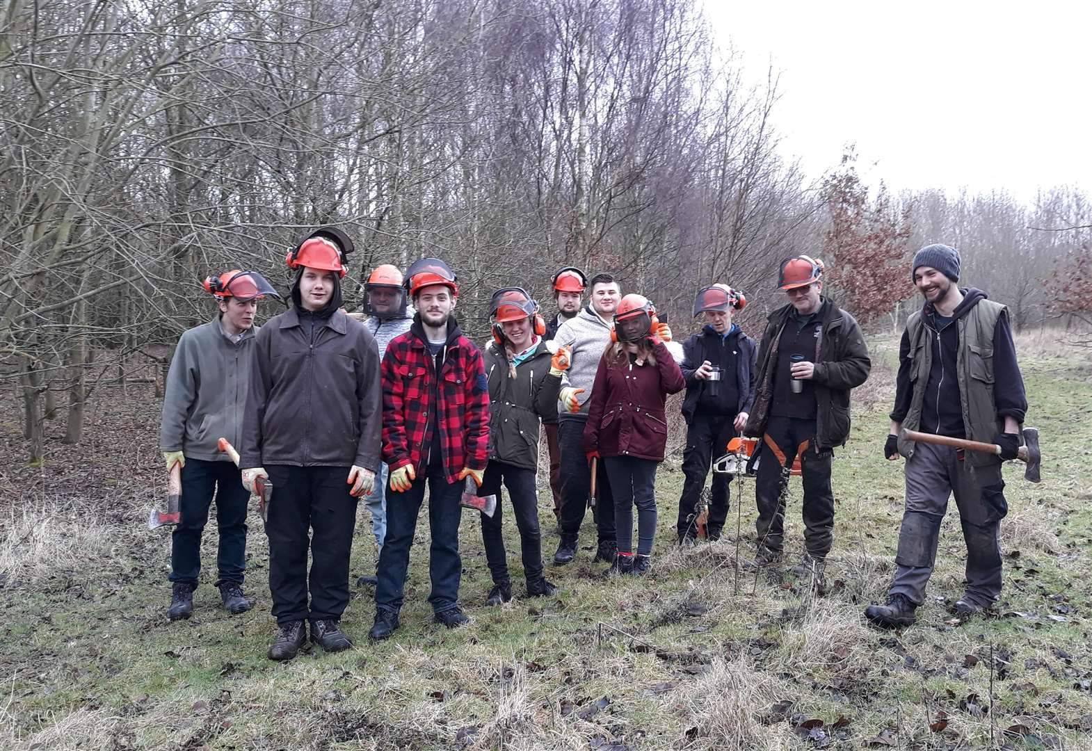 Grantham job seekers take part in training course as part of heritage project