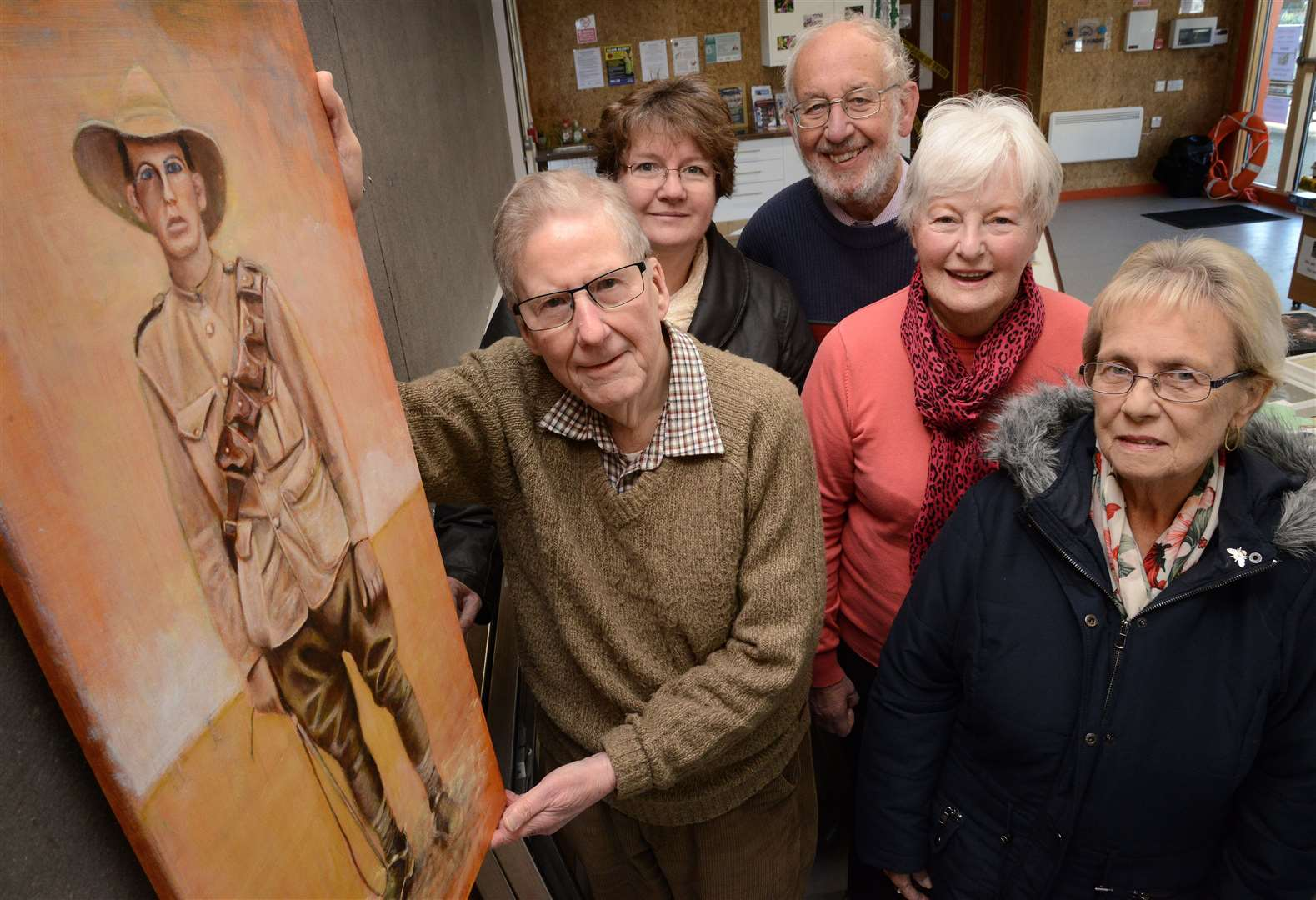 Grantham Art Club sets up exhibition in Wyndham Park