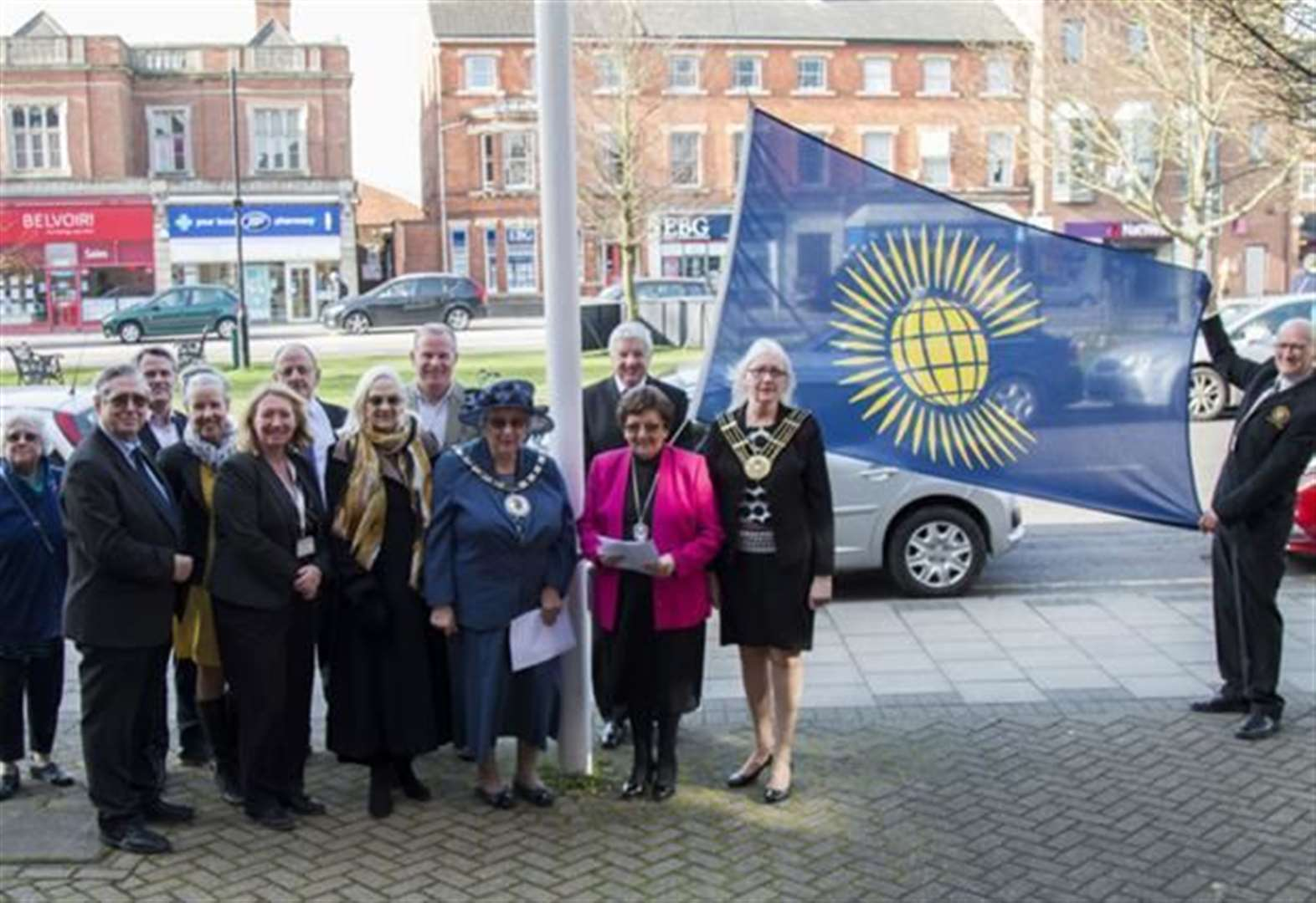 Commonwealth flag to fly high in Grantham
