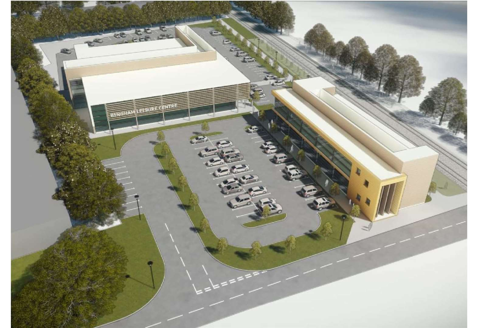 New £20m leisure centre approved
