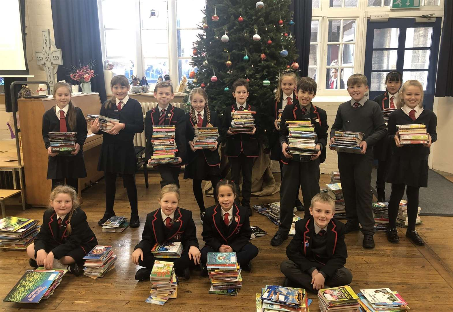 Grantham school secures grant for 3,000 new books
