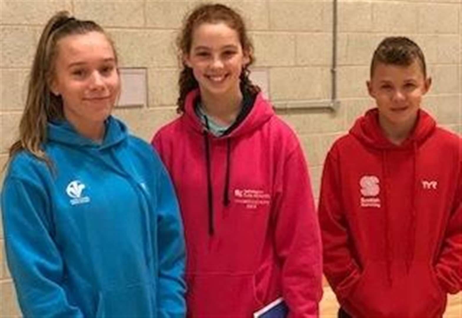 Talented town quartet picked for swimming training camps