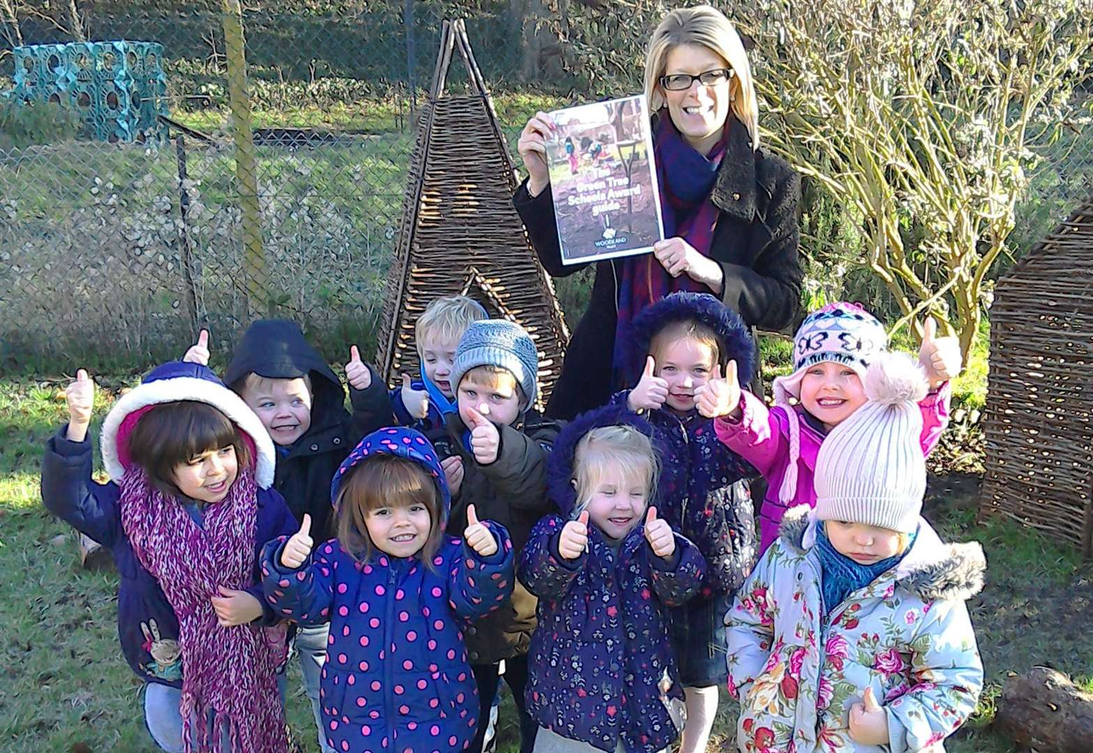Ancaster nursery signs up for Woodland Trust's green award