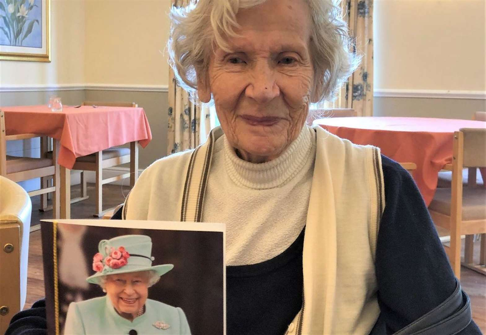 Grantham woman celebrates turning 100 years old