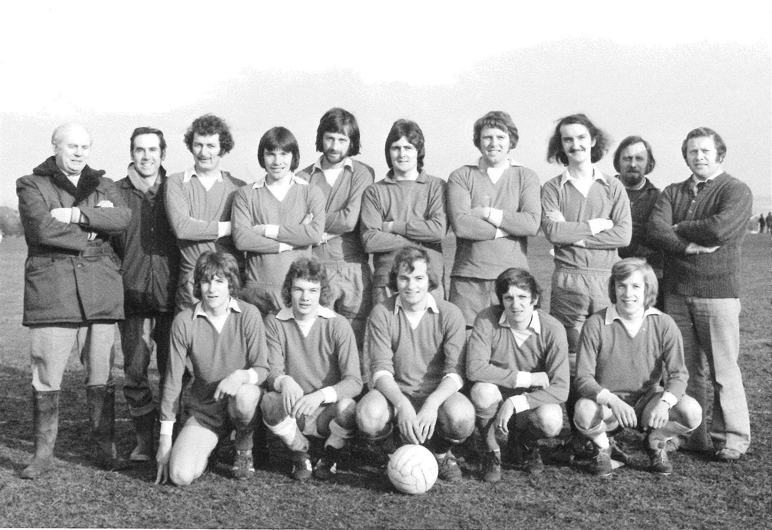 St Anne's FC finished third in the league in 1976