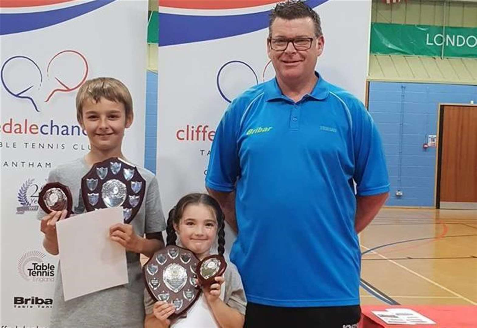 Club, GAPS and table tennis league organise schools tourney in Grantham