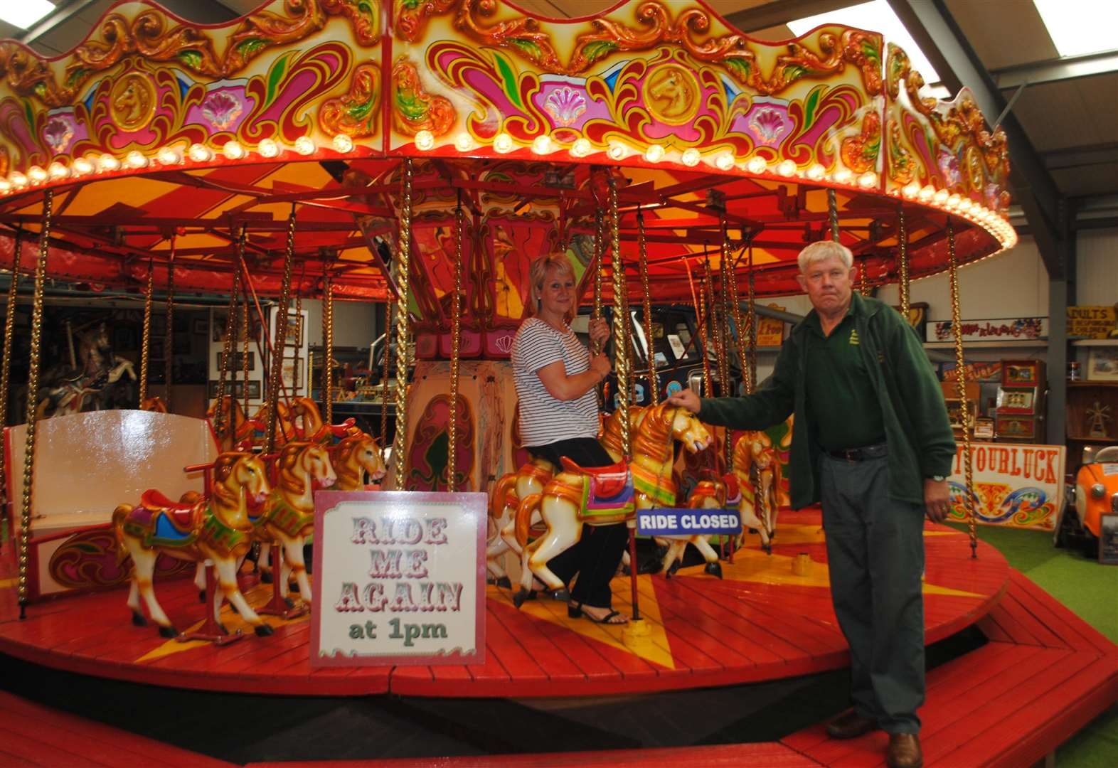 'I want to set up fairground museum'