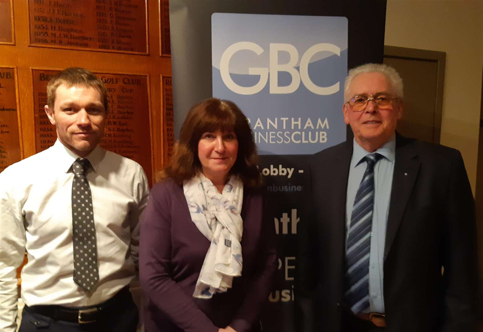 Husband and wife step in to lead Grantham Business Club in 2019