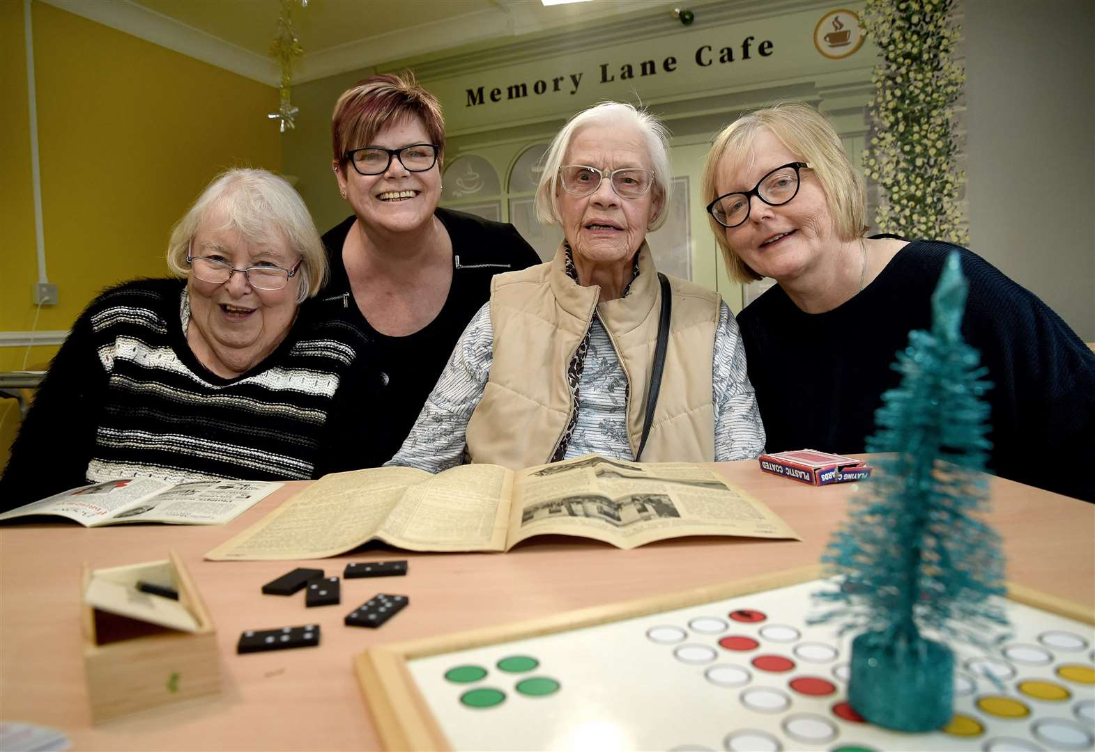 Grantham care home unveils 'Memory Lane' cafe for residents