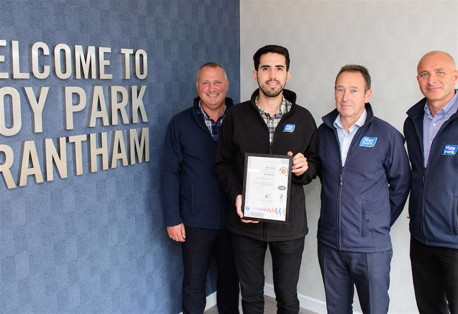 Moy Park Grantham receives international accreditation for environmental performance