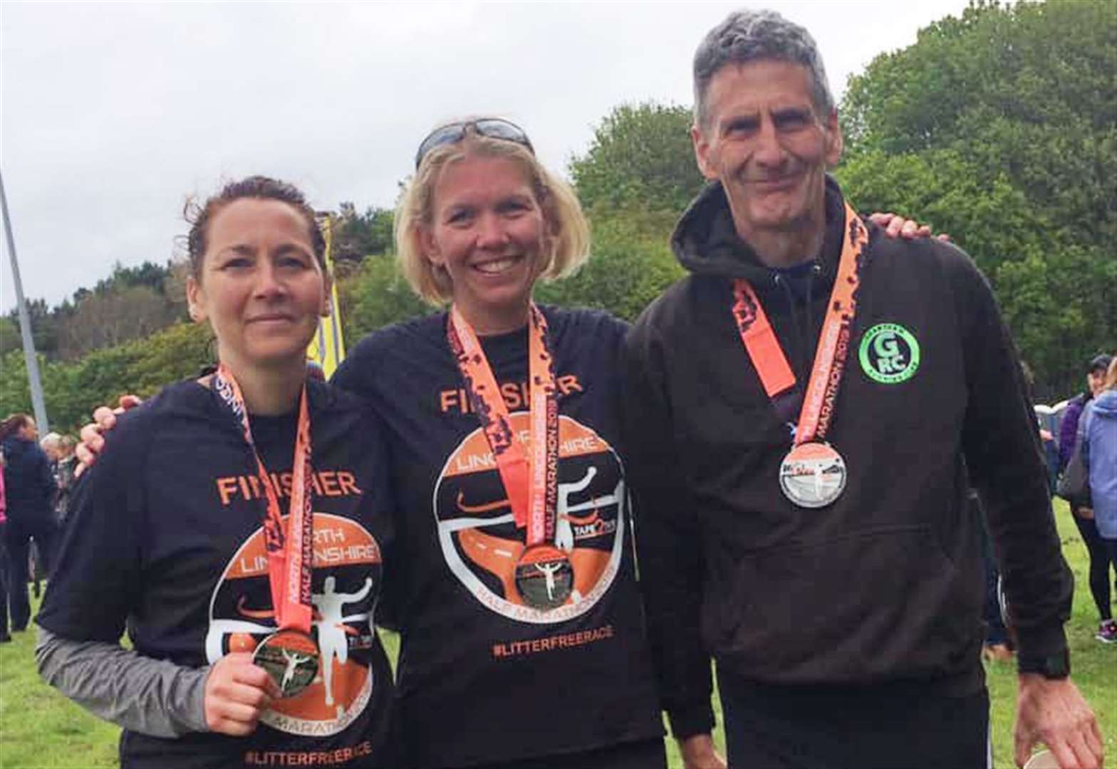 Howbrook is first home for Grantham Running Club in Scunthorpe half marathon