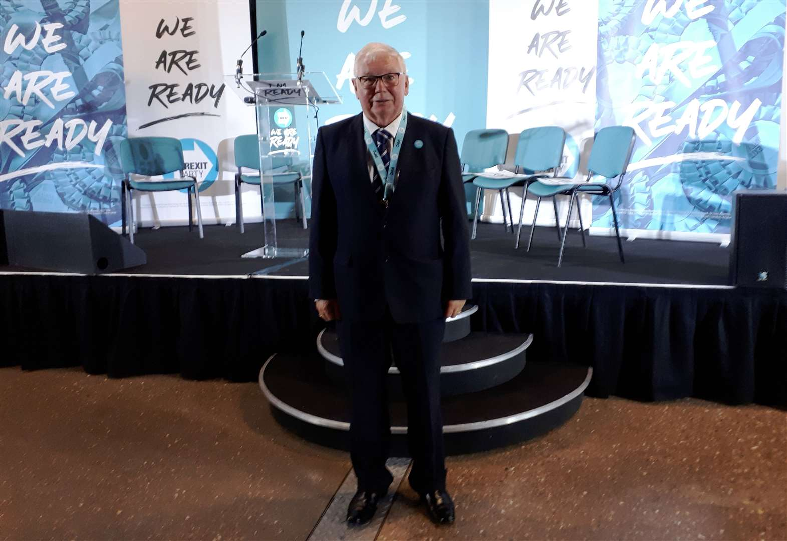 Brexit Party announces Rutland and Melton candidate as RAF veteran Jim Bennett