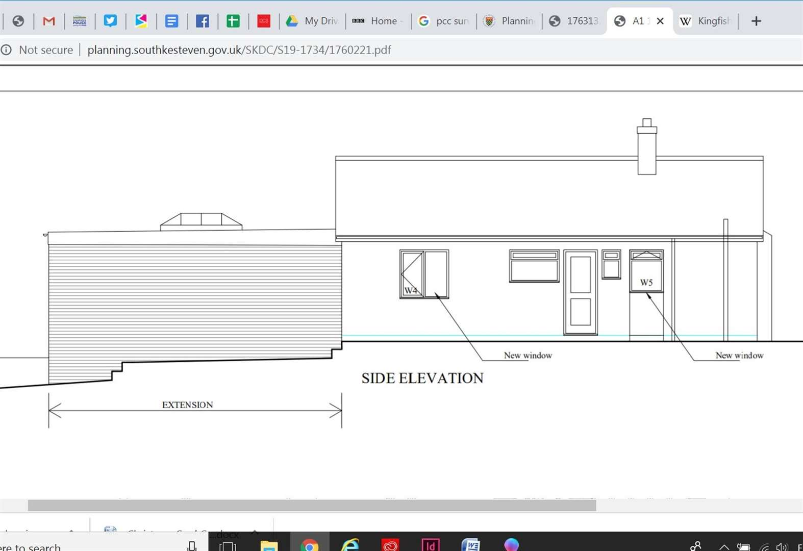 Extension to Grantham bungalow 'looks like a warehouse'