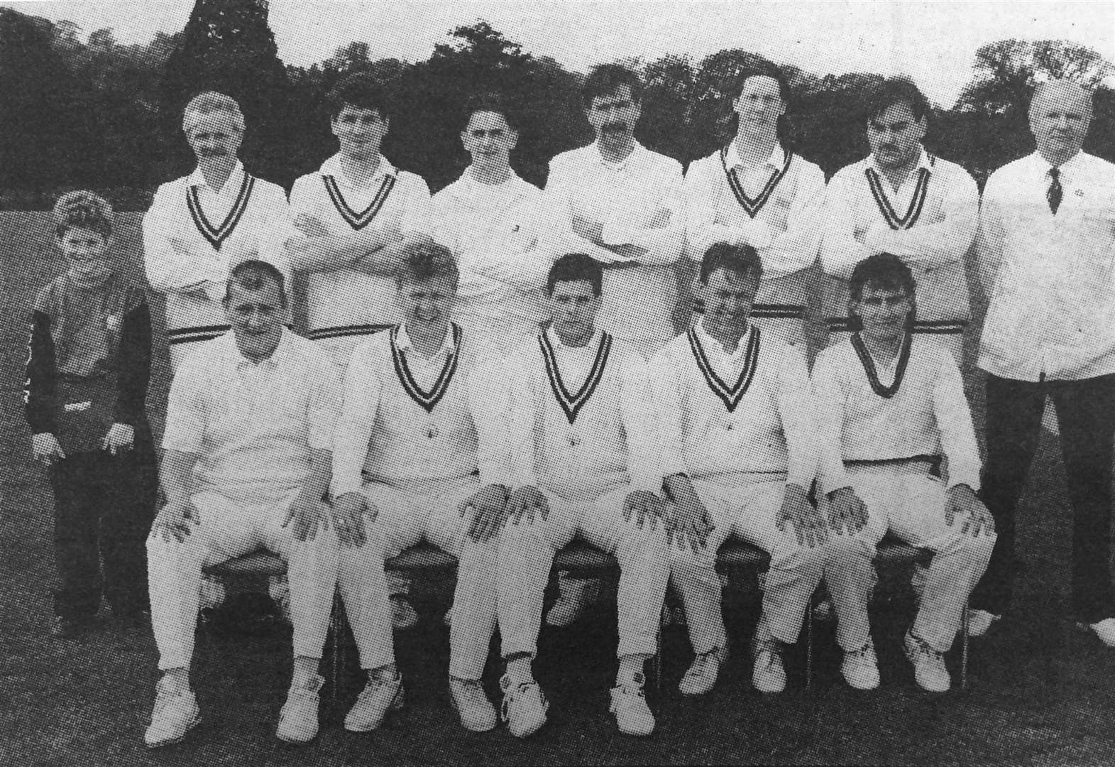 Belvoir CC 25 years ago