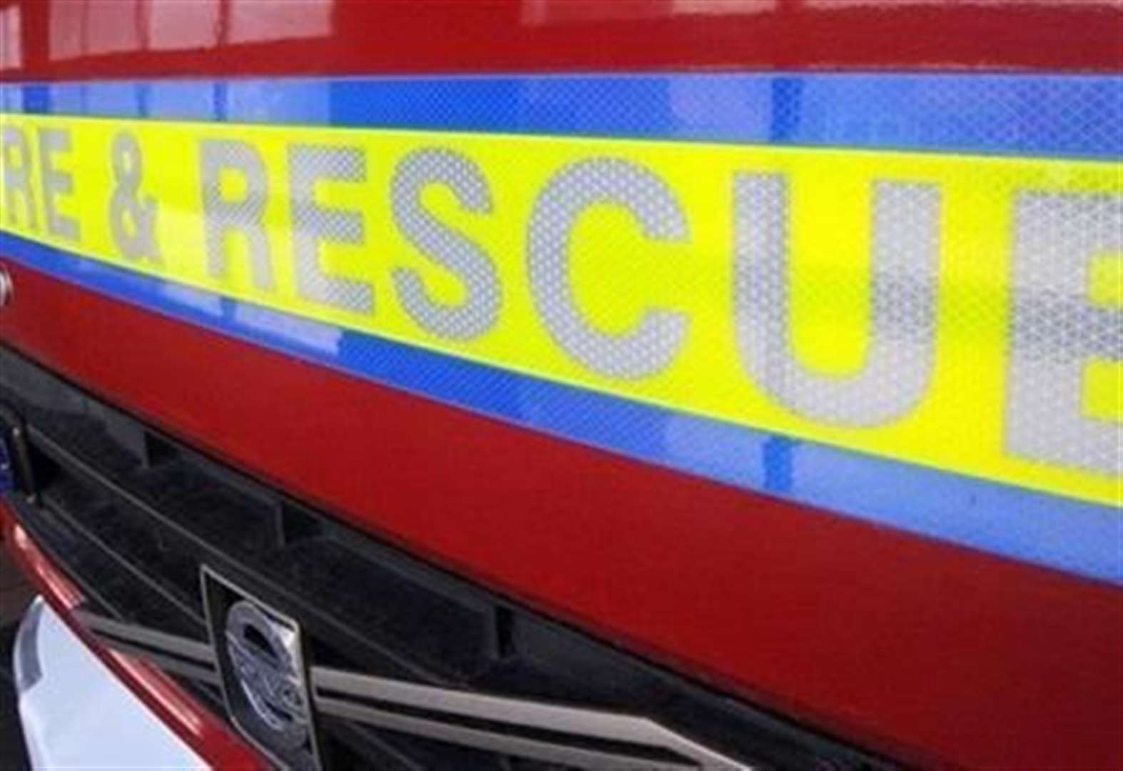 Firefighters tackle blaze at property in Grantham