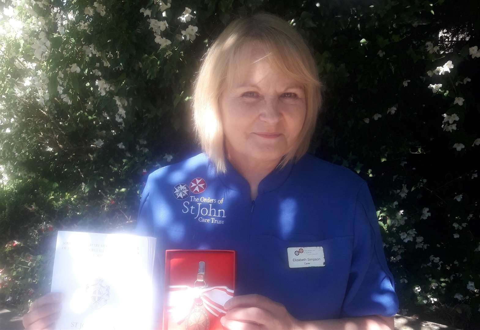 Grantham carer receives outstanding service award