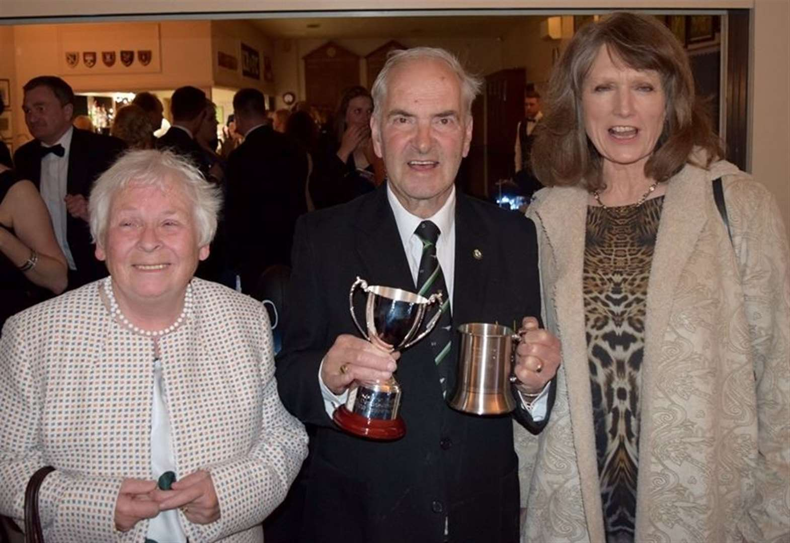 Grantham's rugby club celebrate end of season at annual dinner