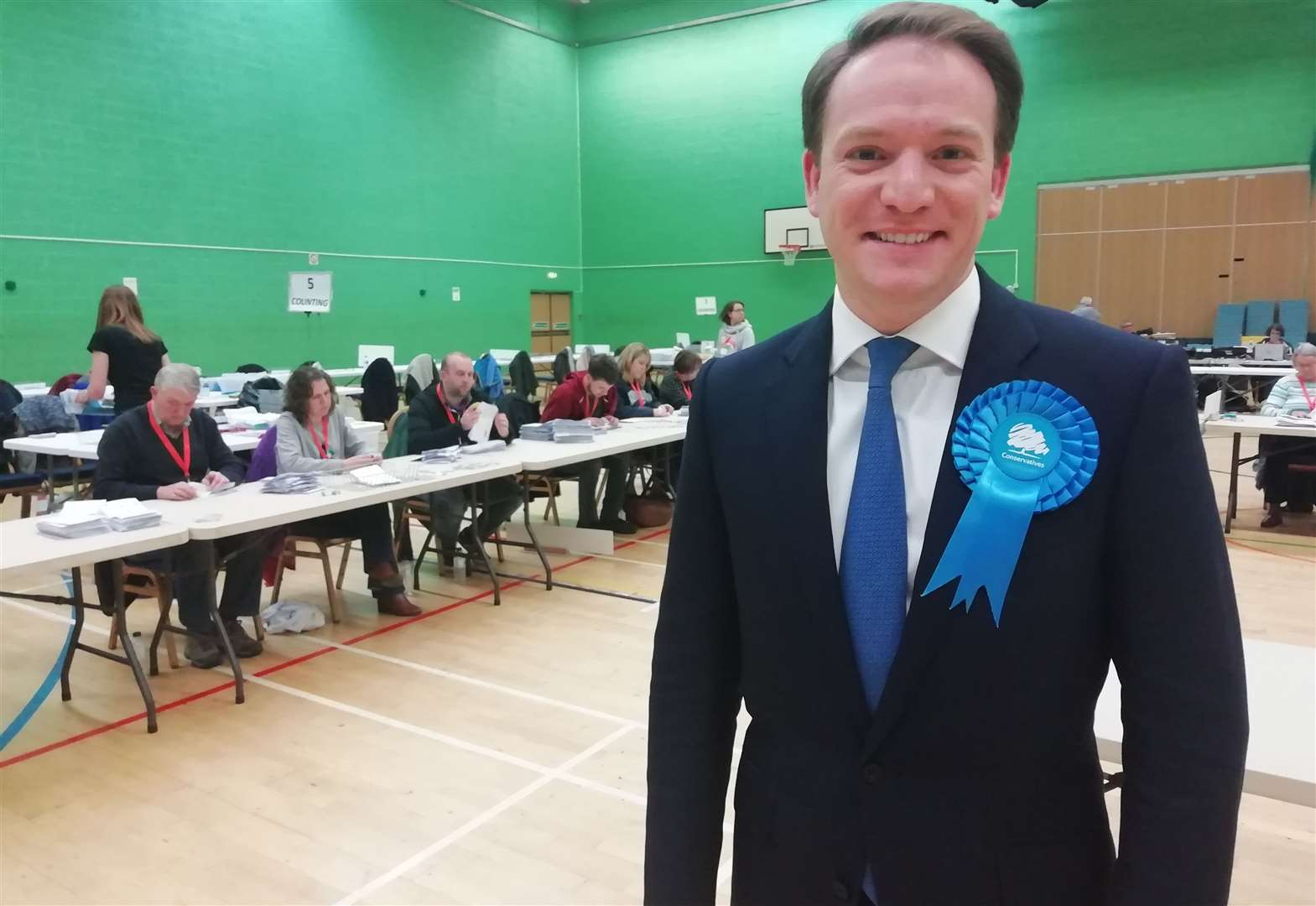 General Election 2019: The new MP for Grantham and Stamford is announced