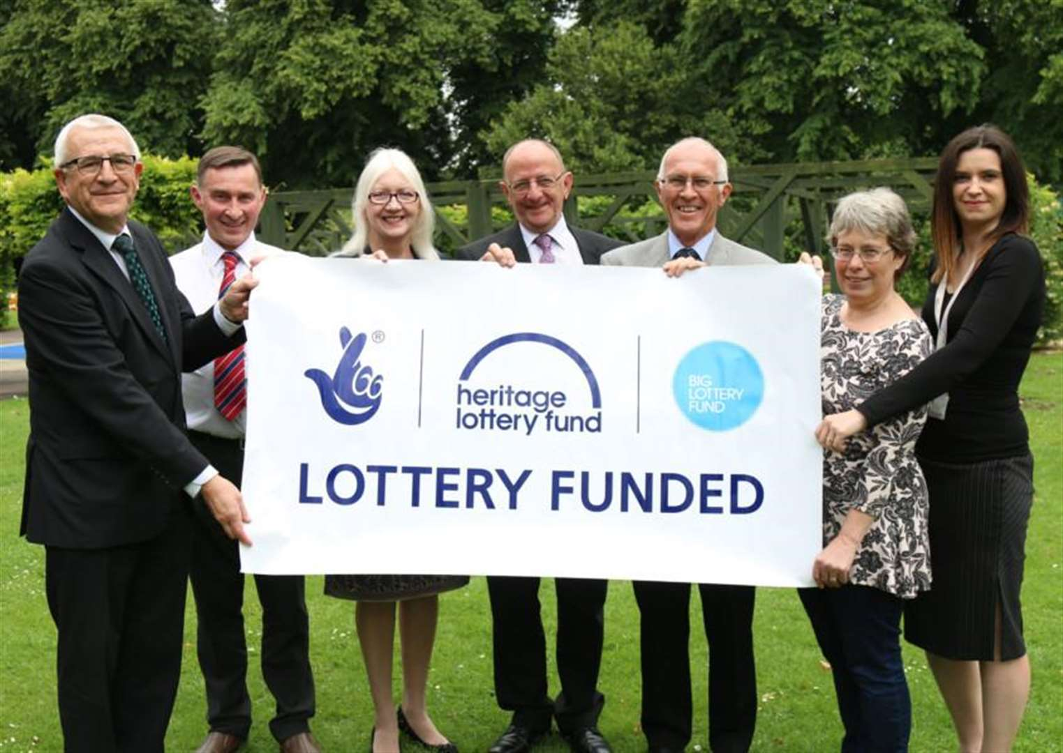 Grantham park receives magnificient £818,000 Lottery boost