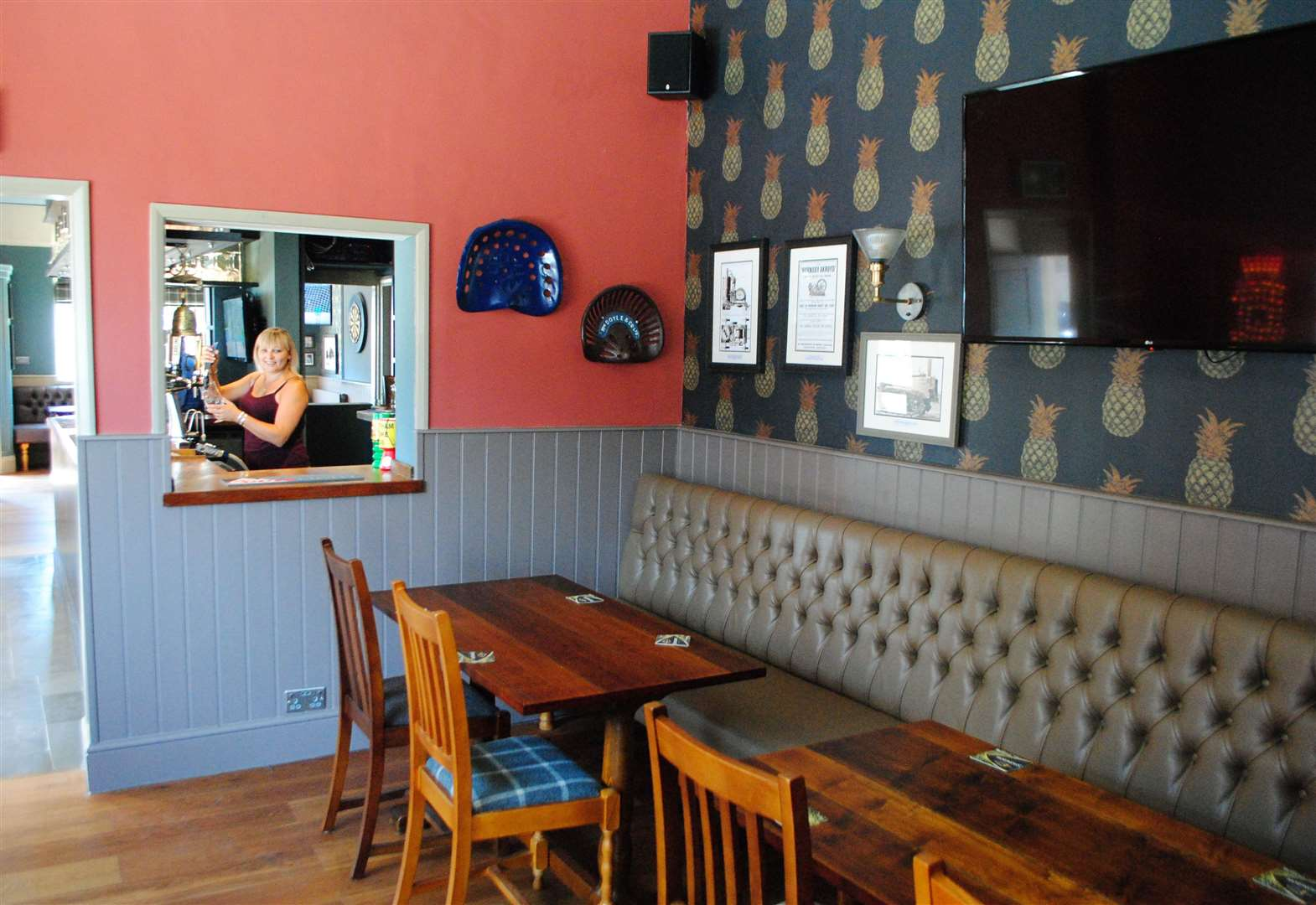 Town centre pub enjoys new look and return to its former name