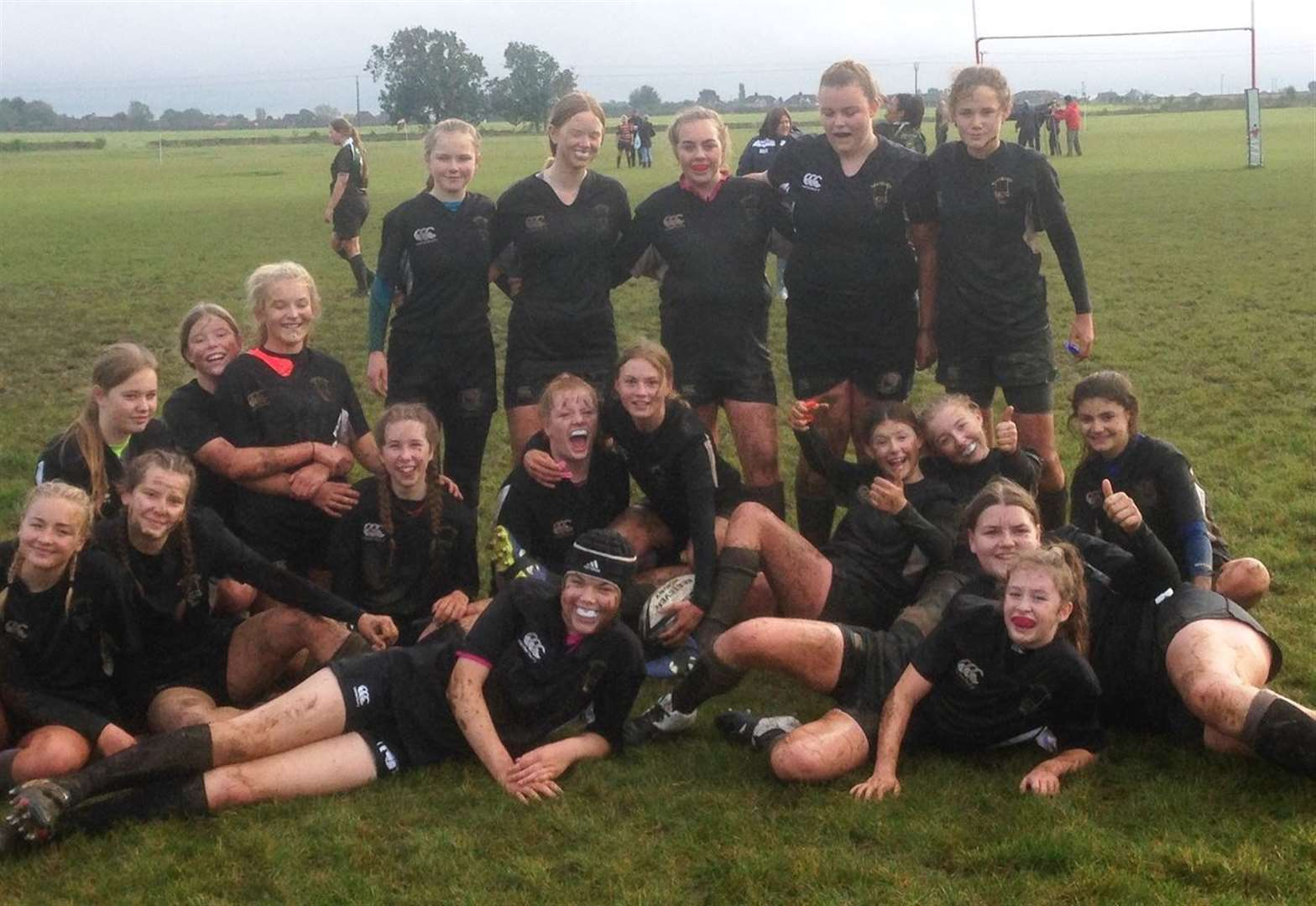 Girls' teams do Kesteven proud at rugby festival