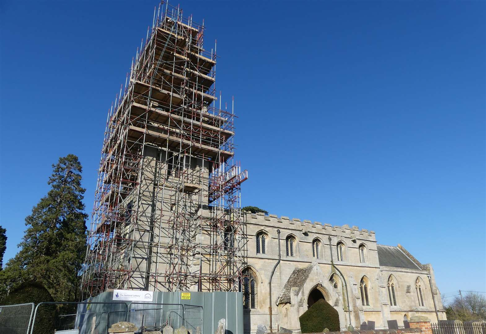 Celebrations as church repairs completed thanks to Lottery Fund
