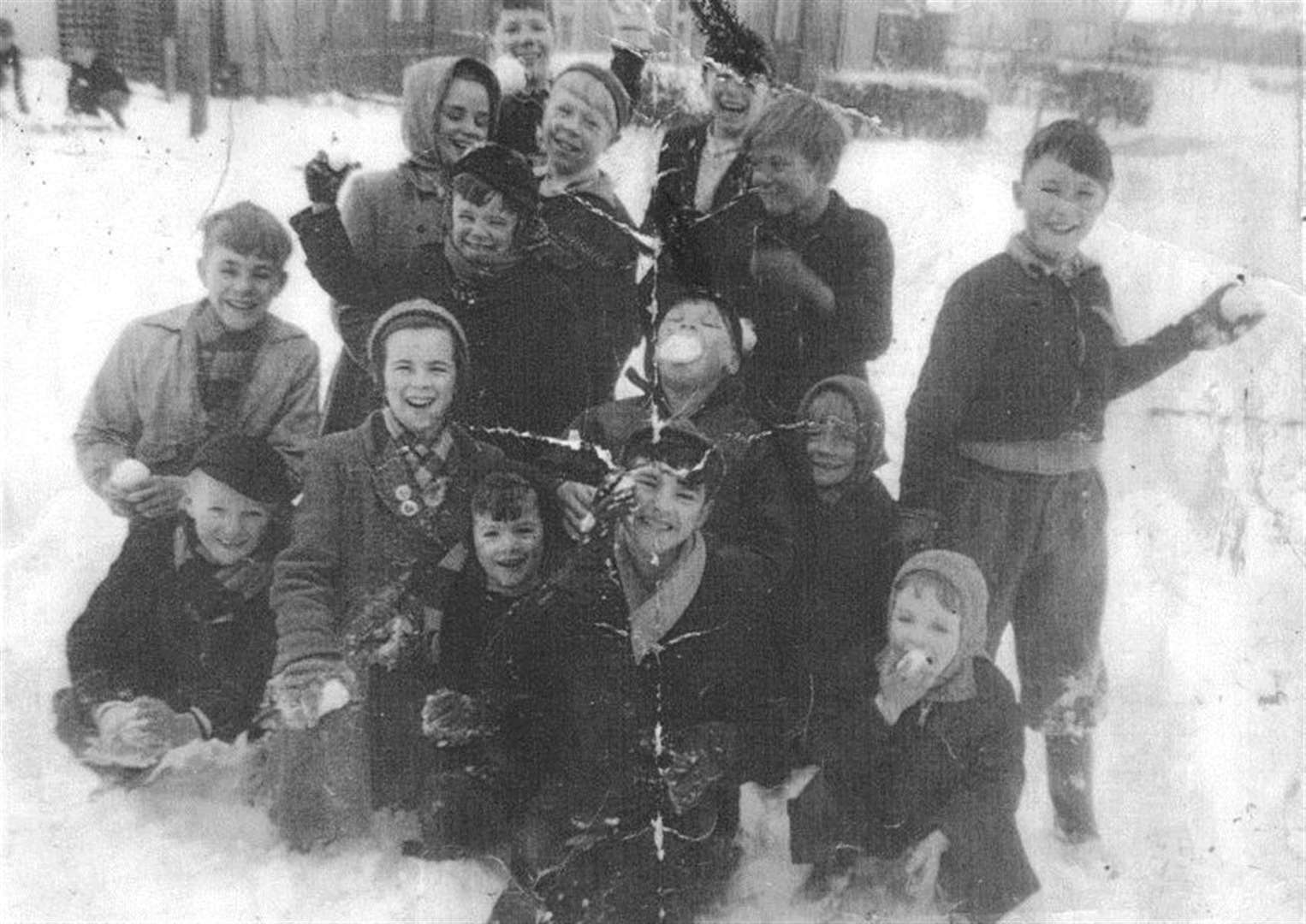 MEMORY LANE: Grantham snowballer does not remember photograph