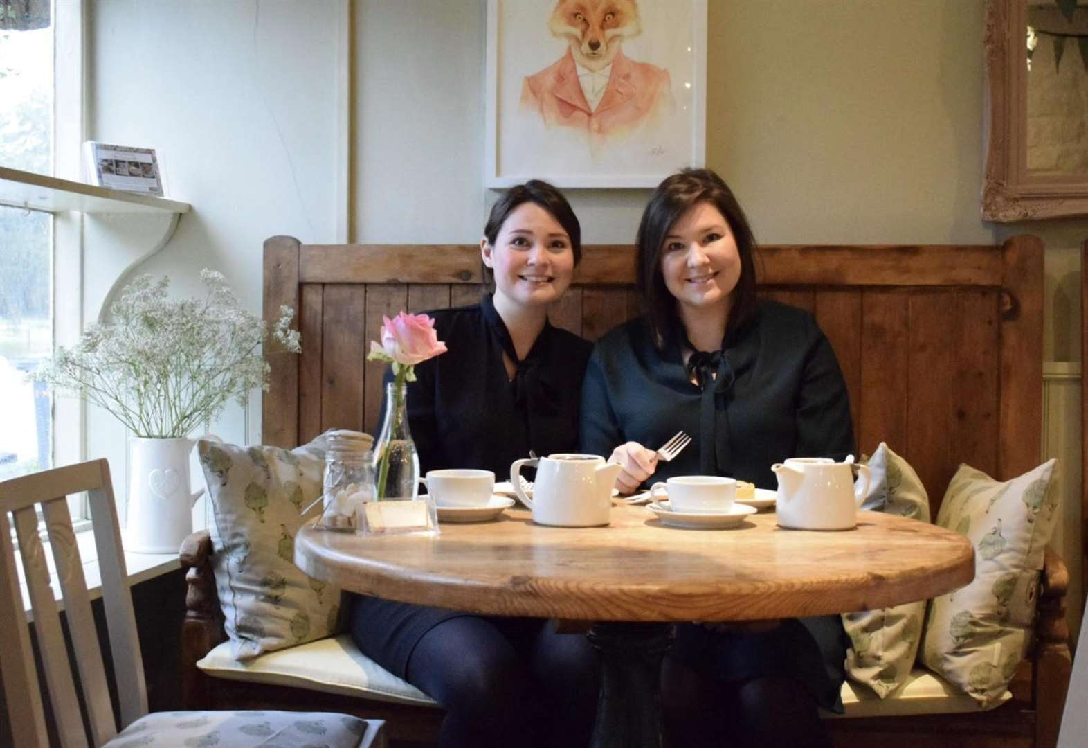 Recognition pours in for Leadenham Teahouse